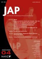 JAP - Juristische Ausbildung und Praxisvorbereitung. Erscheint viermal jährlich, Studentenpreis Inland jährl. inkl. Versand