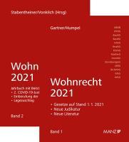 PAKET: Wohnrecht 2021 Band 1 + 2
