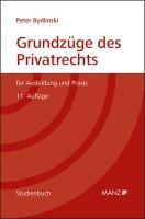 Grundzüge des Privatrechts