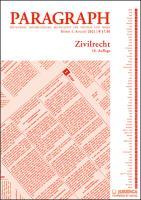 Paragraph - Zivilrecht