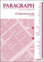 Paragraph - Zivilprozessrecht