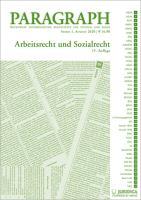 Paragraph - Arbeitsrecht und Sozialrecht