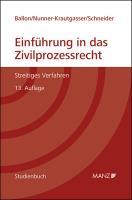 Einführung in das Zivilprozessrecht