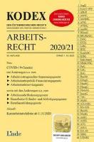 KODEX Arbeitsrecht 2020/21