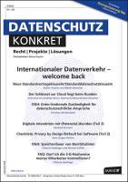 Dako - Datenschutz konkret Kennenlern - Abo 2 Hefte, Preis: inkl. Versand